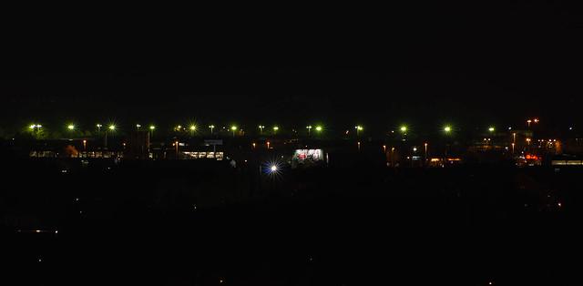 Hannover - Lindener Hafen bei Nacht