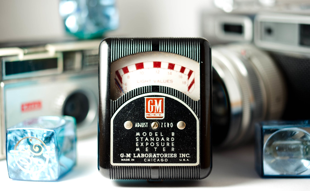 Light Meter | My grandparents' old GM Model B Standard Expos