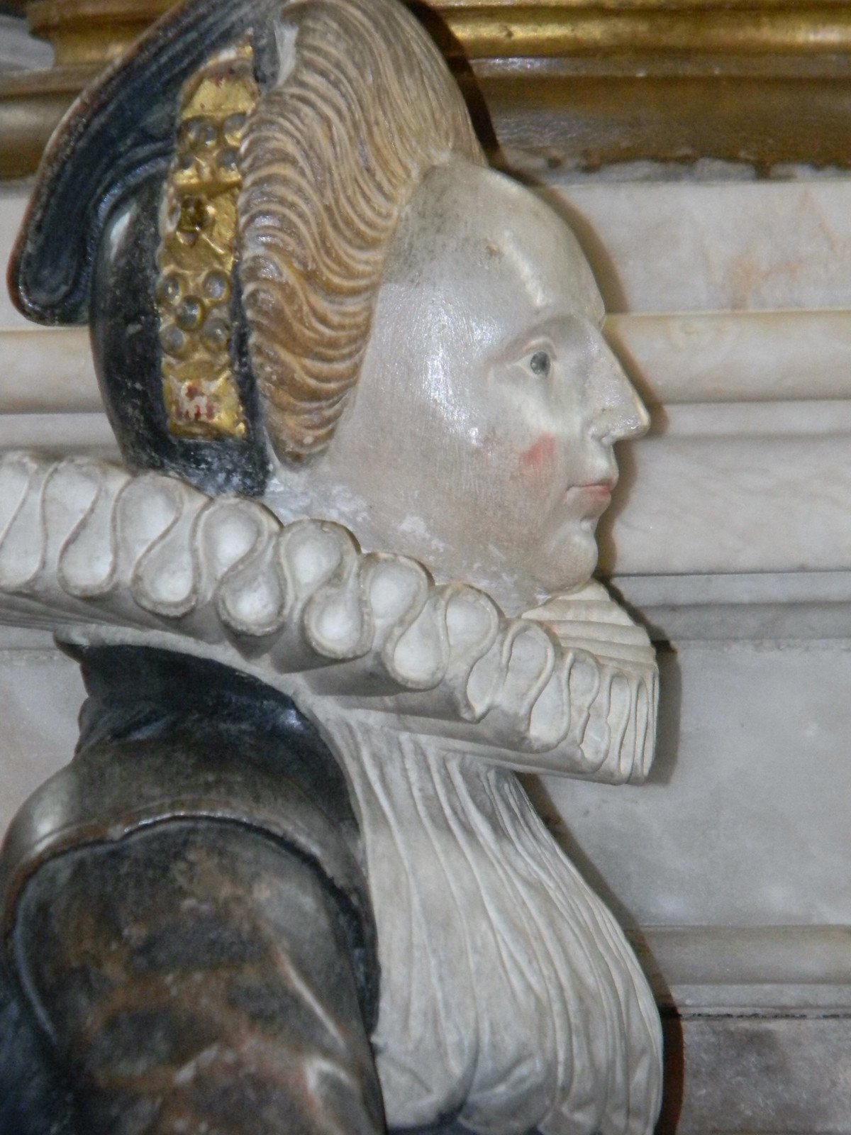 A Knollys daughter The Knollys tomb, Rotherfield Greys. Shiplake to Henley