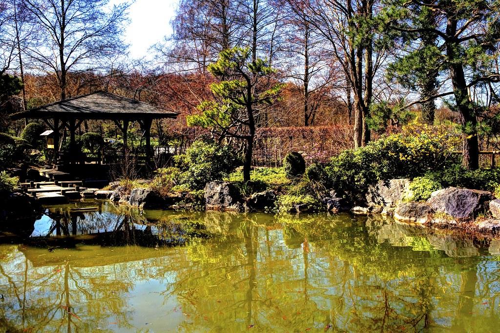 München, Westpark, Japan Garten | Der Japangarten wurde von… | Flickr