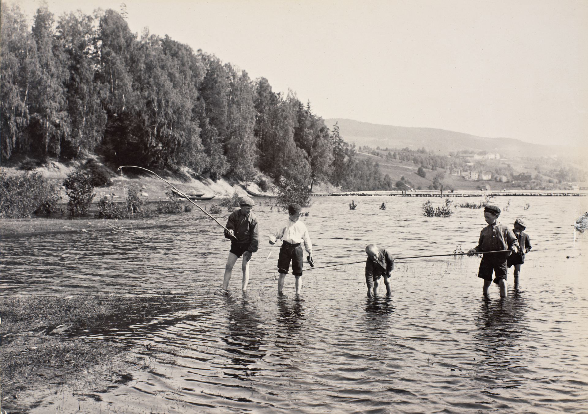 Mesna-Elvens Udløb ved Lillehammer