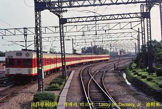 Seoul Subway Map 1980s.Seoul Metro Train Departs Incheon Station 1980 A Seoul Me Flickr