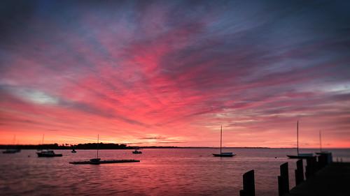 connecticutphotographer landscapephotographer naturephotographer photographicart unitedstates digital sunrise morning dawn seascape colorful clouds