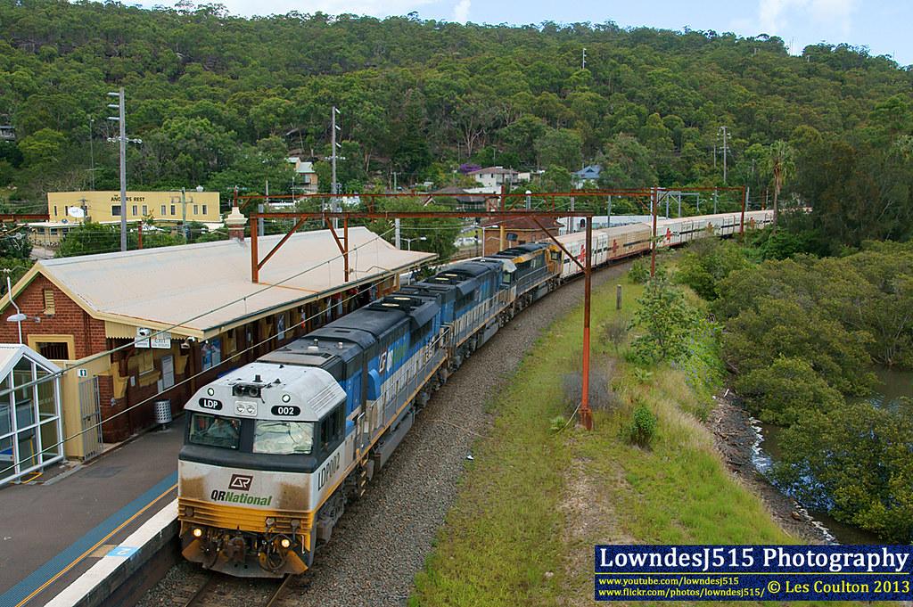 LDP002, LDP001 & LDP005 at Hawksberry River by LowndesJ515