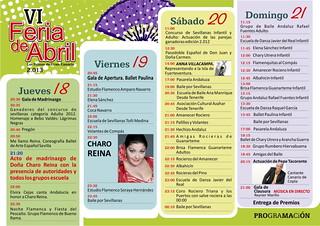 carteles y programas VI feria de abril 2013 Las Palmas 03