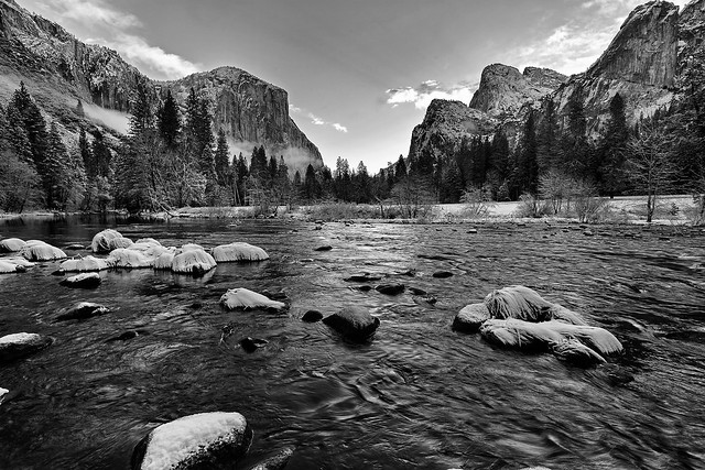A storm that didn't happen at Yosemite National Park