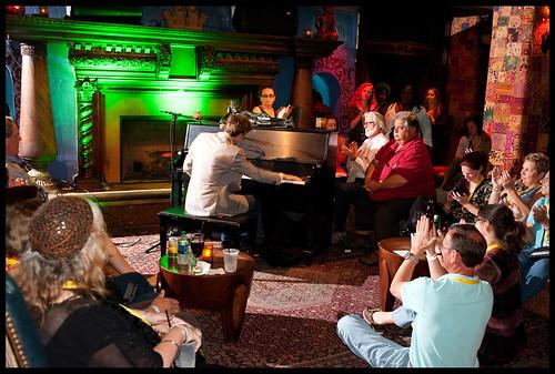 Paul Longstreth  at WWOZ's Piano  Night.  Photo by Ryan Hodgson-Rigsbee www.rhrphoto.com