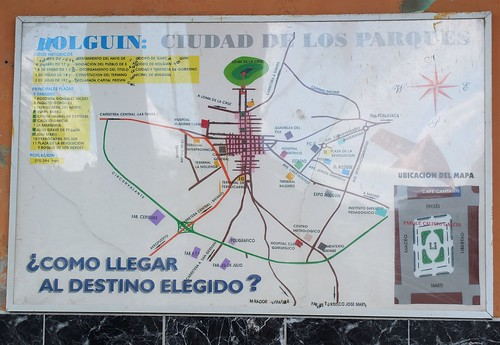 Holguin Street Map | by Gerry Hill