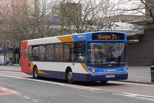 Stagecoach Western 22384 (SF55RKK)