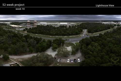 blue panorama lighthouse florida angels naval base pensacola seanscarmack