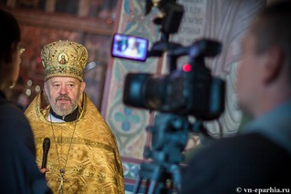 Литургия в Софийском соборе 60