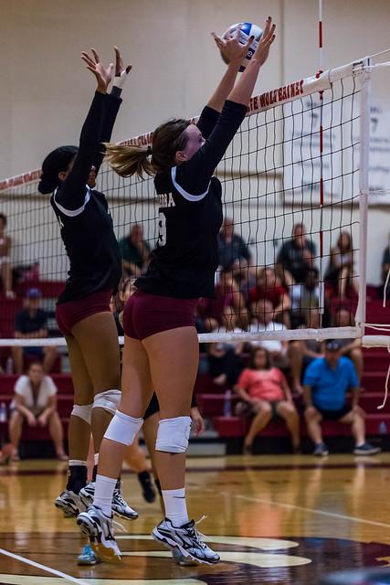 Sierra College Volleyball (9/2/2016)