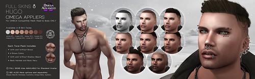 [GA.EG] Hugo Full Skins - Omega Appliers