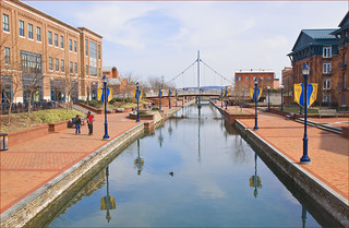 Carroll Creek Park Frederick (MD) March 2011 | by Ron Cogswell