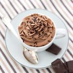 Chocolate cream mousse