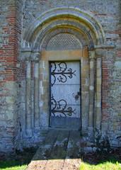 north nave door