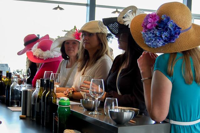 Ladies in a Line, Blustone Vineyards