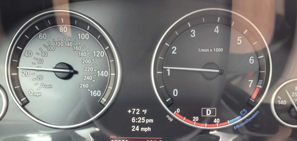 BMW F10 5 Series Coded for Digital Speedometer | Winning