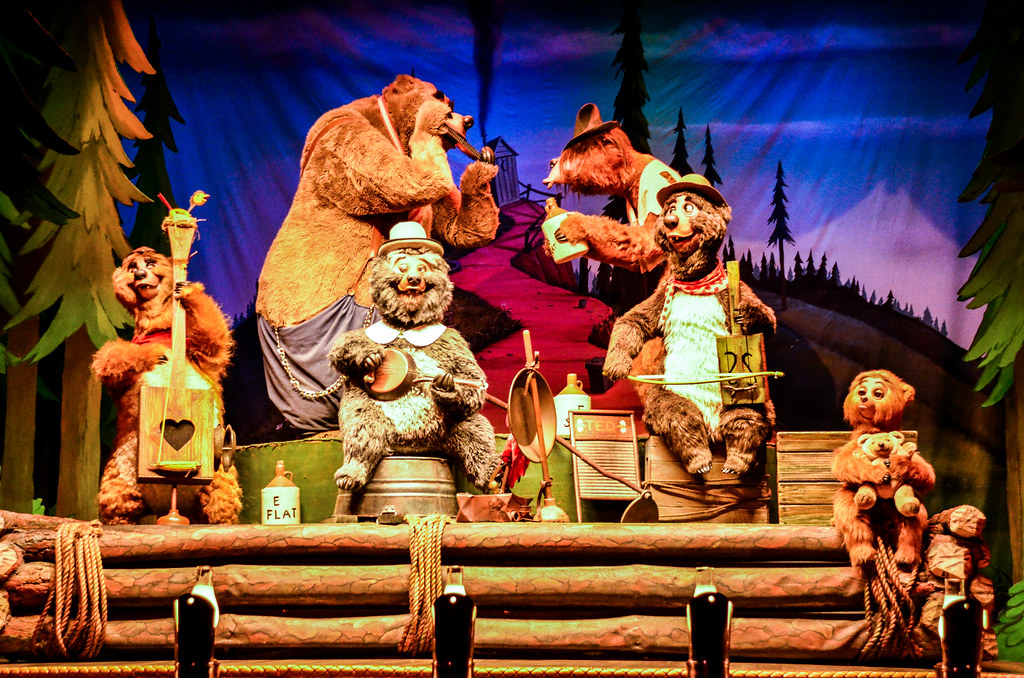 Country Bear band