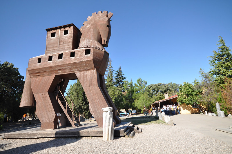 Troy (and a trojan horse)