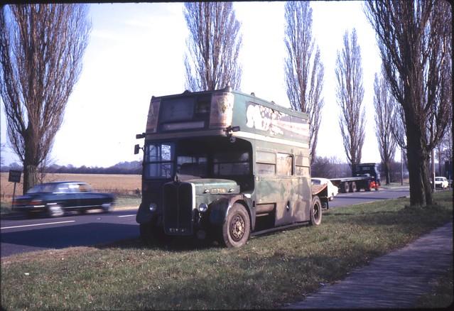 03659 - KXW 145 - A1 near Welham Green - 22 Mar 1972