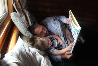 Morning stories with Dada | by quinn.anya