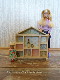Playscale Dollhouse Nursery Shelf | by JunqueDollBoutique