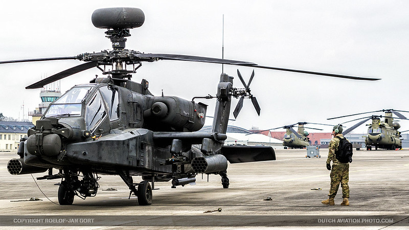 Training with U S  Army Apaches in Europe, an interview
