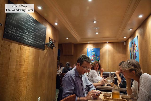 Partial interior of Breizh Café