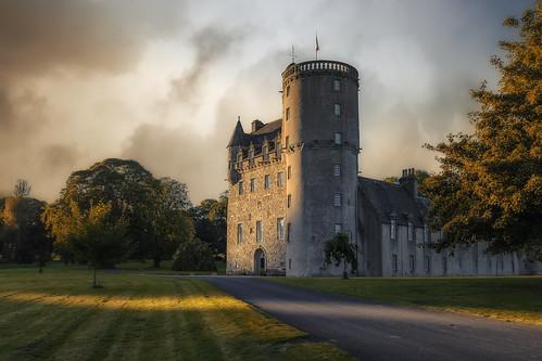 6d aberdeenshire castlefraser architect architecture building canon darrenwright dazza1040 eos infinity scotland sunset