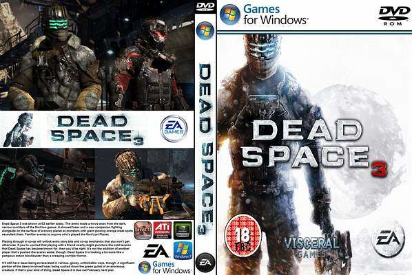 Dead Space 3 Pal Front Cover 96923 Ghostx Sv Flickr