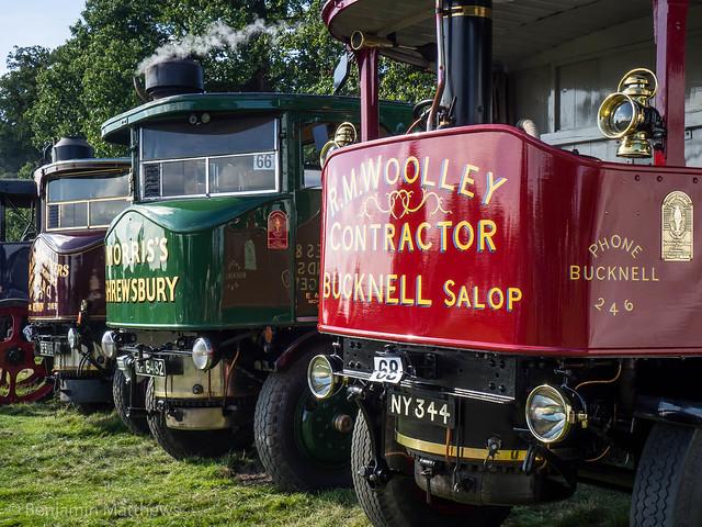 Shrewsbury Steam Rally 2017