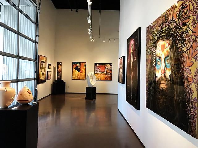 Santa Fe Railyard Gallery