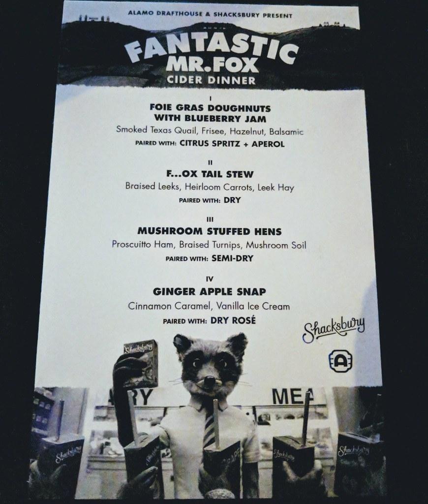 Fantastic Mr Fox Cider Dinner Maker S Date 2017 12 20 Ver Flickr