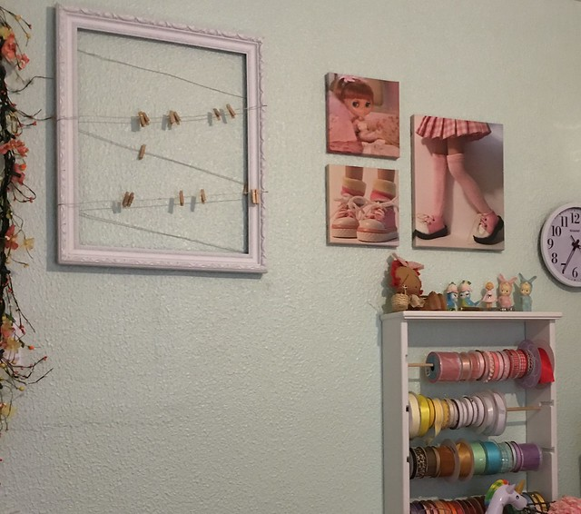 new wall art for my sewing room...