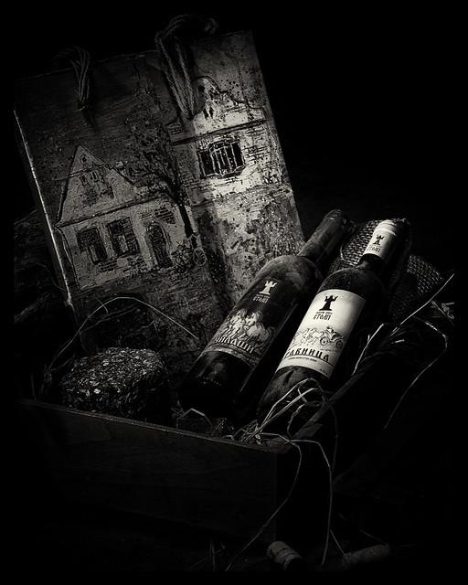 Wine in the Attic BW