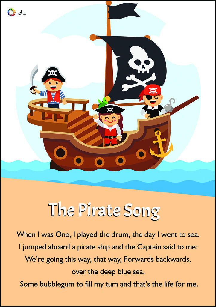 The pirate song | Nursery rhymes are not only fun for kids b