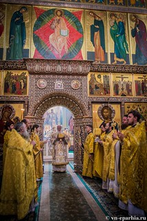 Литургия в Иверском монастыре 130
