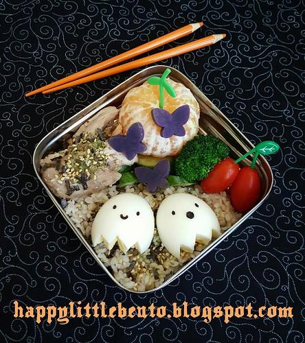 Ghost Buddies Egg Bento! | by sherimiya ♥