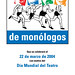 IV Maratón de monólogos. Madrid 2004