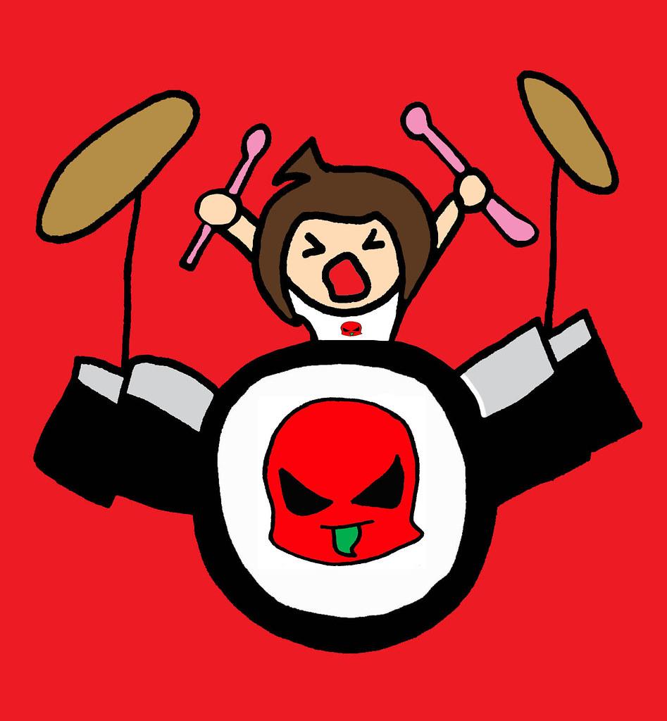 B Pop Drums Rock Band Drummer Punk Nasty Drum Set Bad Girl Flickr