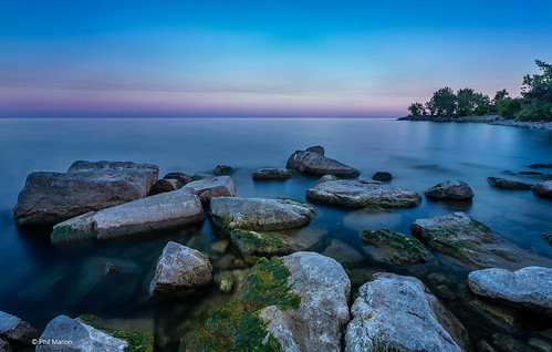 Pastel dusk over Lake Ontario | by Phil Marion (173 million views - THANKS)