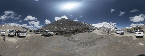 changla panorama ladakh mountains ptgui