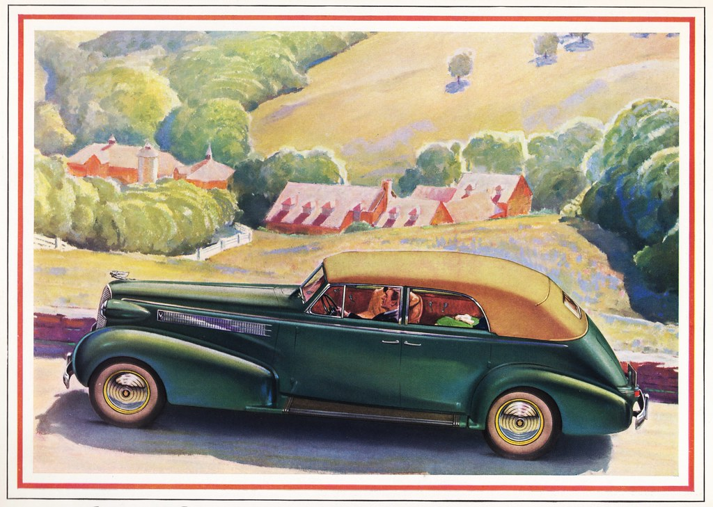 1937 Cadillac Series 60 Convertible Sedan