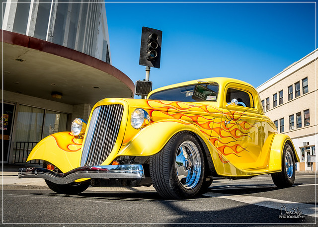 1934 Ford 3 Window Coupe - 2016 Cruisin Route 66 Reunion - Ontario, CA