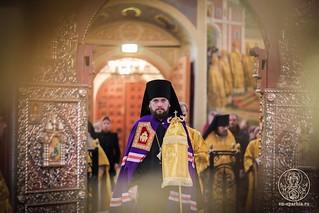 Литургия в Иверском монастыре  125