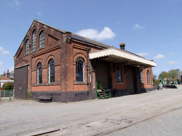 The old Goods Shed at Chappel & Wakes Colne