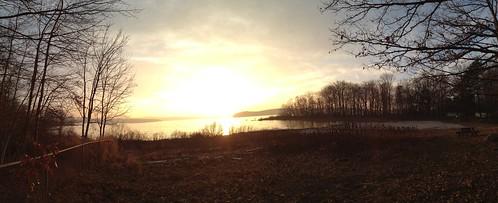 sunset panorama sun beautiful wonderful amazing pretty shine bright pennsylvania honesdale