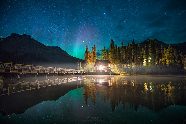 'Fire in the Disco' Emerald Lake, BC