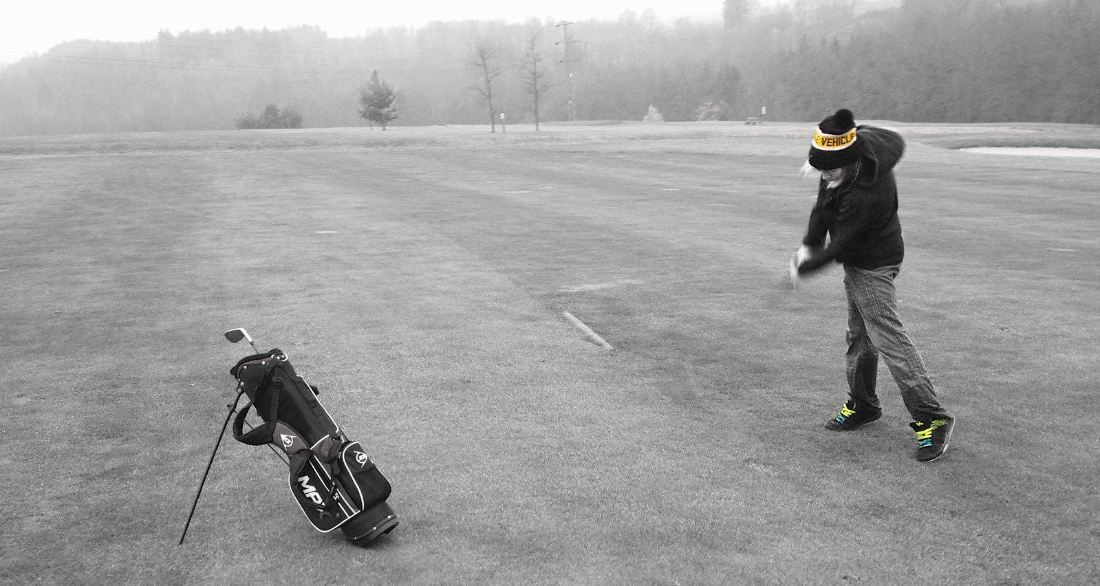 Telemark na golfu